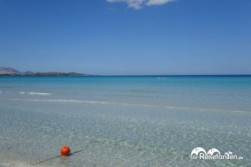 Die Spiaggia de la Cinta auf Sardinien