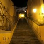 Am Abend unterwegs in Cagliari