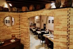 Blick in den ersten Gastraum im Lo Zodiaco in Cagliari