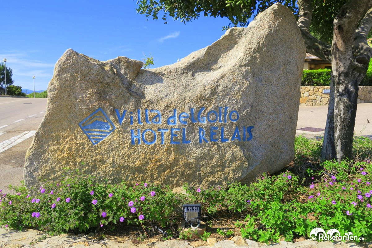 Das Logo der Villa del Golfo
