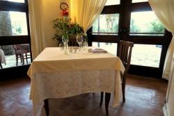 Restaurant im Hotel Galanias auf Sardinien
