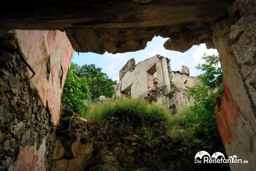 Ungewöhnliche Einblicke in Gairo Vecchio
