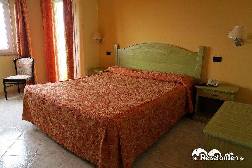 Doppelzimmer im Hotel Rosa Dei Venti auf Sardinien
