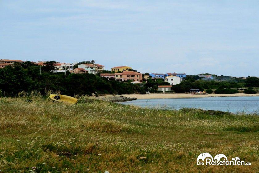 Blick auf den Strand von Santa Teresa Di Gallura