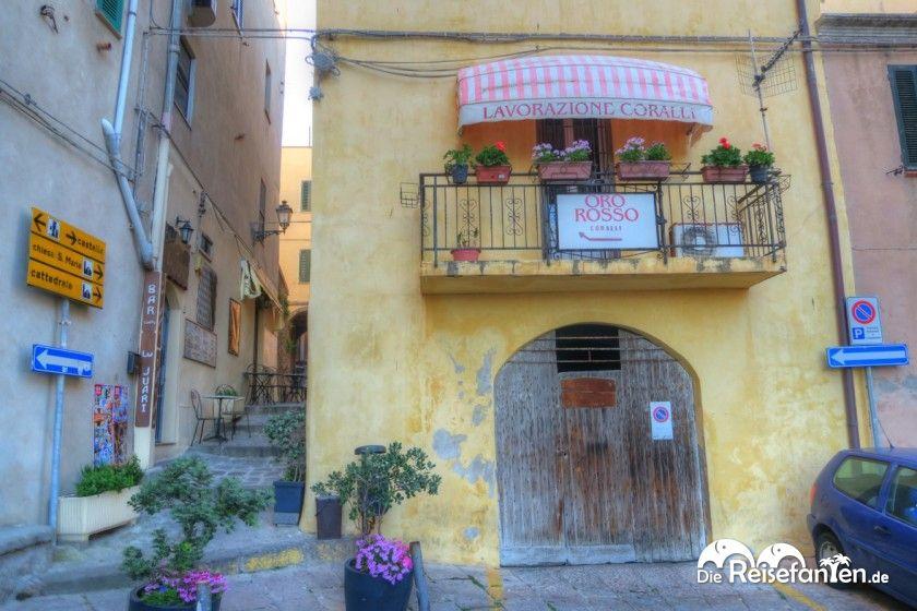 Italienisches Flair in Castelsardo auf Sardinien