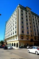 Außenansicht des Hotels Catalunya in Alghero