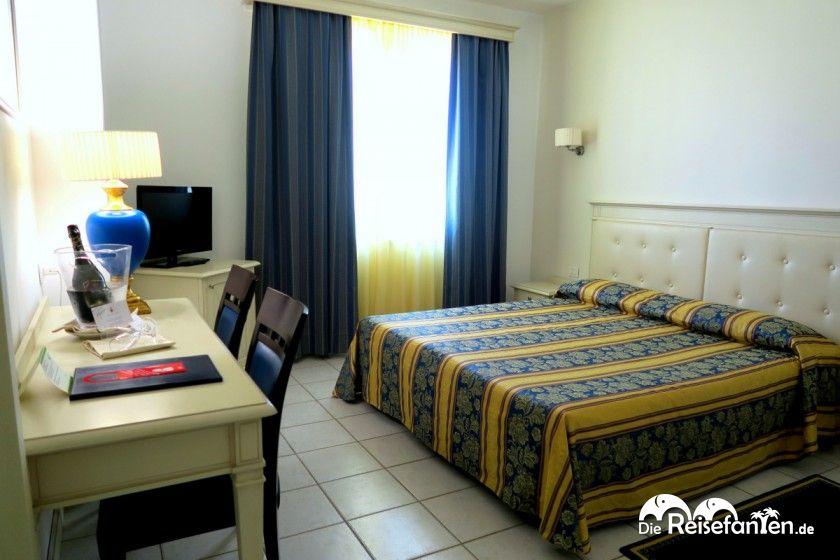 Doppelzimmer im Hotel Catalunya in Alghero