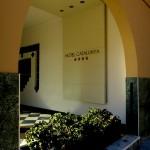 Eingangsbereich des Hotels Catalunya in Alghero