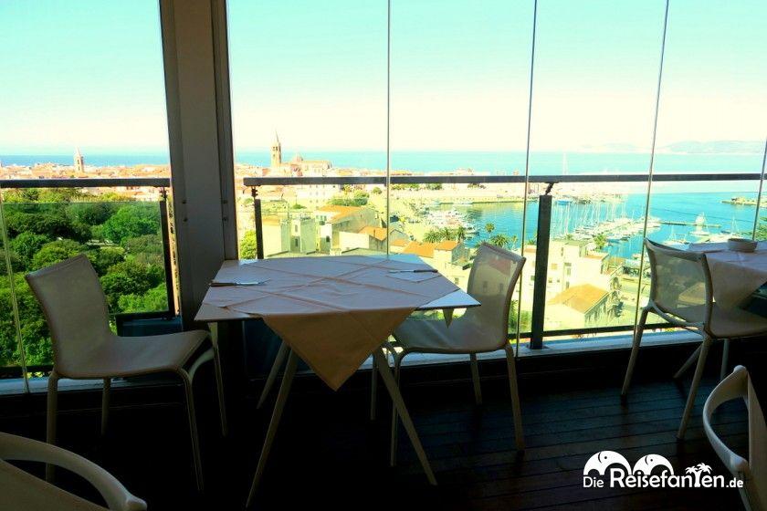 Frühstücksrestaurant im Hotel Catalunya in Alghero