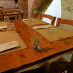 Gemütliches Ambiente im Restaurant Lu Furat in Alghero