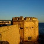 Stadtmauer von Alghero auf Sardinien