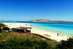 Traumstrand Spiaggia Della Pelosa auf Sardinien