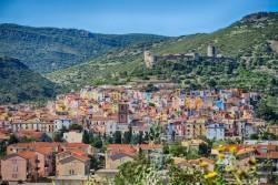 Über der der sardischen Stadt Bosa thront das Kastell Malaspina