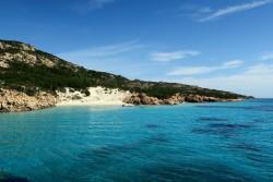 Blick auf den Soraya Beach auf Sardinien