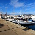 Hafen von Palau auf Sardinien