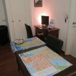 Kleine Rezeption im Lewisrooms in Cagliari auf Sardinien