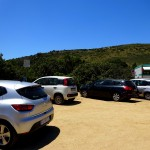 So leer sind die Parkplätze auf Sardinien nur in der Nebensaison