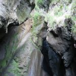 Blick in die Schlucht vom Wasserfall von Varone am Gardasee