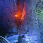 Der untere Zugang zum Wasserfall von Varone am Gardasee