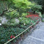 Dre botanische Garten am Wasserfall von Varone am Gardasee
