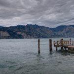 Der Bootsanleger in Malcesine am Gardasee