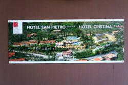 Die Hotls San Piertro und Hotel Cristiana bilden einen großen Hotelkomplex