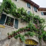 Malerischer Treppenaufgang in Malcesine