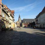 Der Marktplatz von Quedlinbur