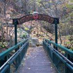 Die Teufelsbrücke im Bodetal im Harz
