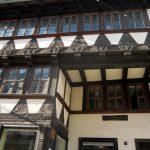 Schiefe Häuser in Quedlinbur