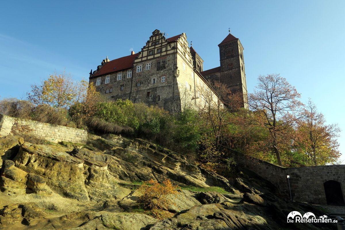Schlossberg mit Stiftskirche St. Servatii in Quedlinbur