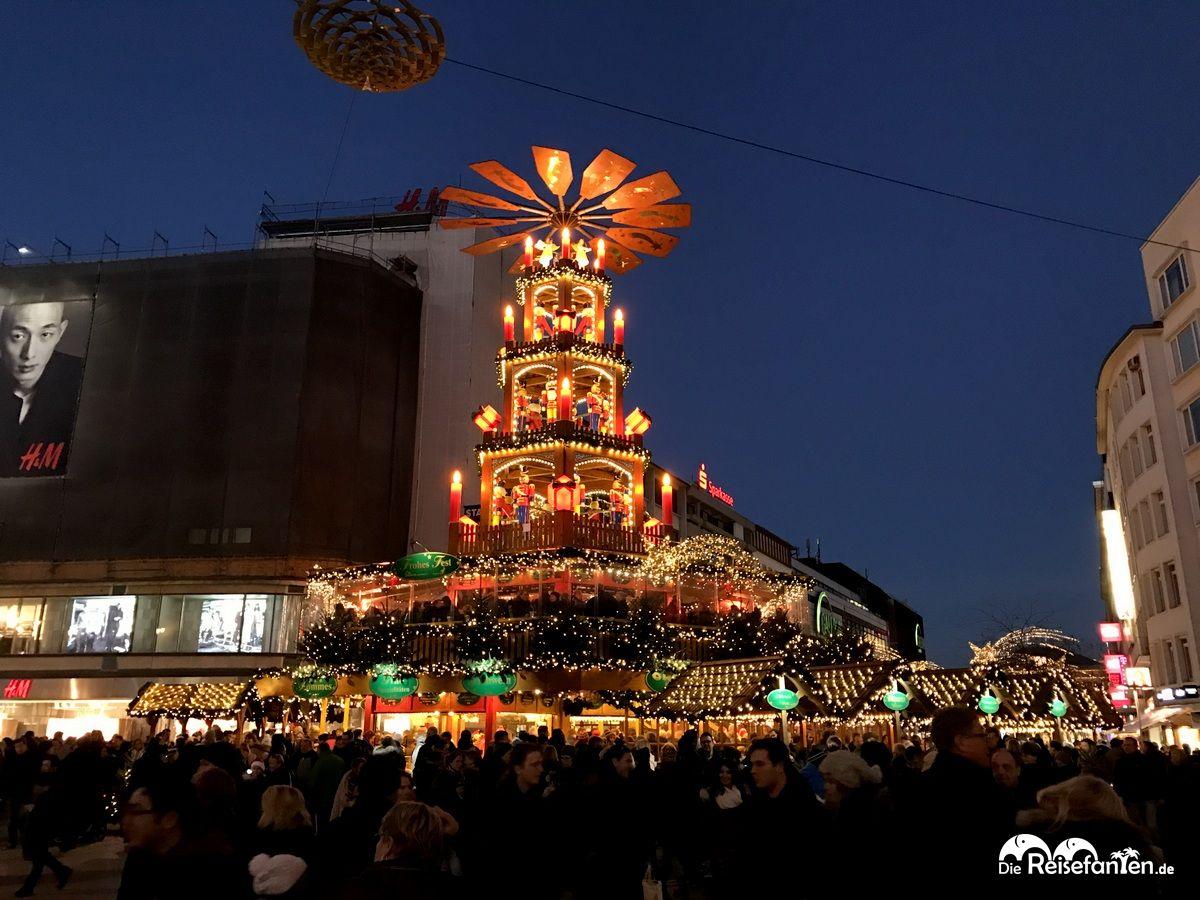 Hannover Weihnachtsmarkt.Auf Dem Weihnachtsmarkt In Hannover Reisefanten De