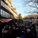 Im finnischen Dorf beim Weihnachtsmarkt in Hannover