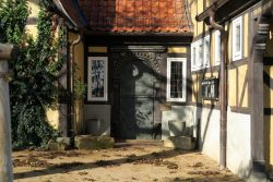 Solche alten Türen finden sich in Quedlinbur
