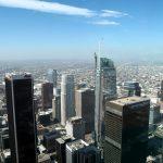 Blick vom OUE Skyspace in Los Angeles Richtung Südwesten