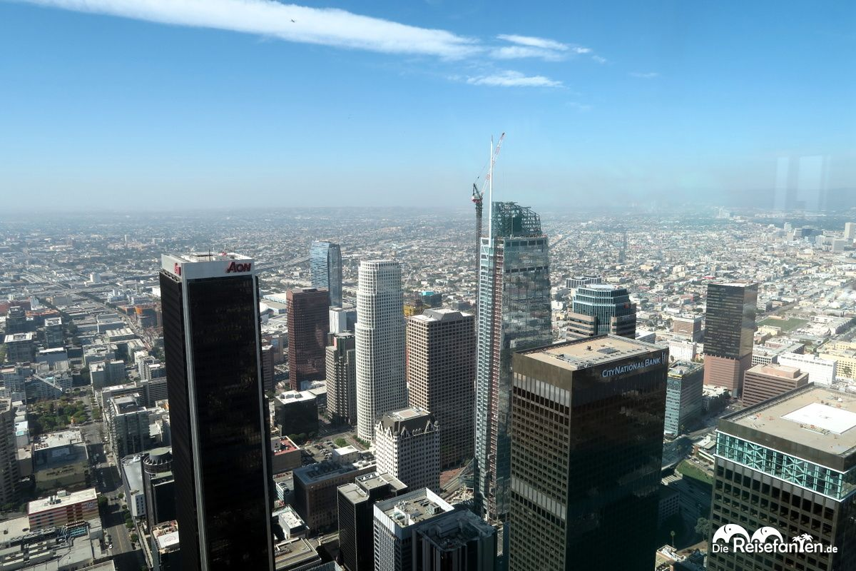 Blick Vom Oue Skyspace In Los Angeles Richtung Sudwesten