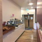 Blick zum Brötchenbuffet im Welcome Hotel in Frankfurt