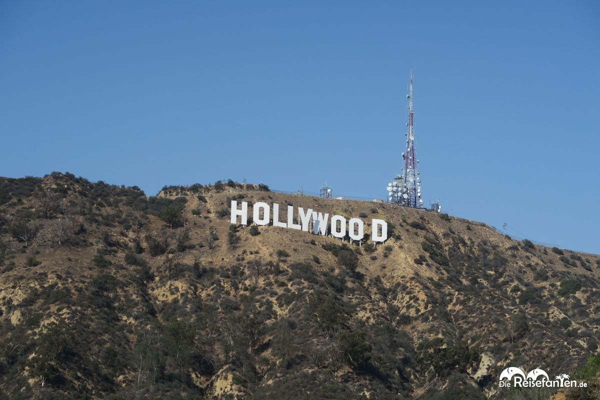 Das berühmte Hollywood Sign in Los Angeles