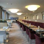 Der Frühstücksraum im Welcome Hotel in Frankfurt