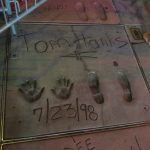 Tom Hanks hat in Hollwood ebenfalls seine Abdrücke hinterlassen