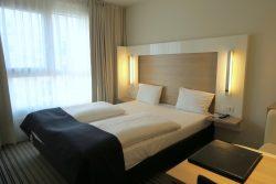 Das Doppelzimmer im Welcome Hotel in Frankfurt