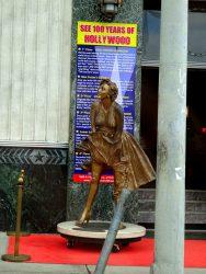 Marylyn Monroe darf in Hollywood natürlich auch nicht fehlen