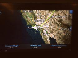 Wir wollten letztendlich nur schnell in Los Angeles ankommen