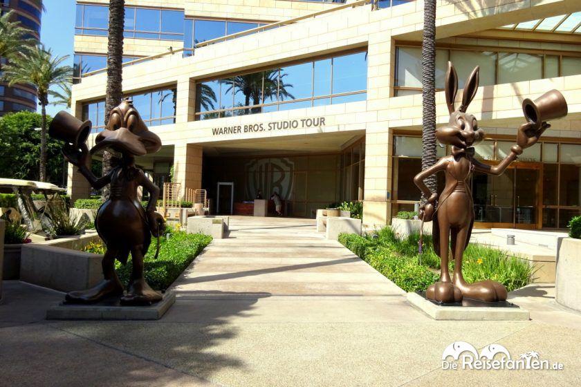 Der Eingang zur Warner Bros Studios Tour