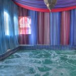 Die heiße Quelle im El Morocco Inn Spa