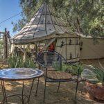 Relaxen im Garten des El Morocco Inn Spa