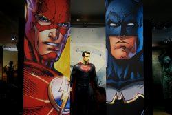 Superhelden Sonderausstellung bei Warner Bros