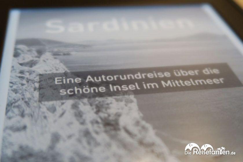 Titelbild des vierten eBooks der Reisefanten auf dem Amazon Kindle Paperwhite