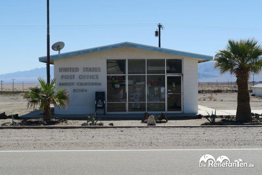 Das Postamt von Amboy