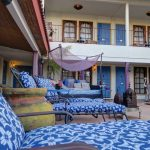 Der Poolbereich des El Morocco Inn Spa